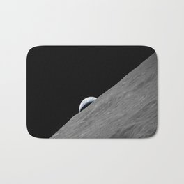 Apollo 17 - Crescent Moon Bath Mat