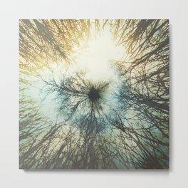 Tree Ball Metal Print