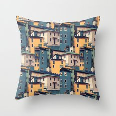 Night Castles (Pattern) Throw Pillow