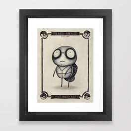 #007 Squirtle Framed Art Print