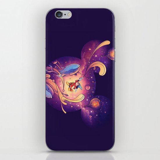 Beyond Your Imagination iPhone & iPod Skin