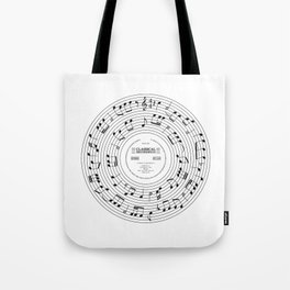 Roll over Beethoven Tote Bag