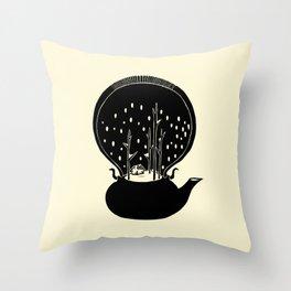 - Tea Time - Throw Pillow