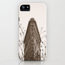 Flatiron In The Fall iPhone Case