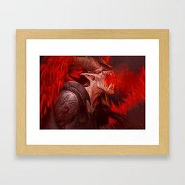 Gothmog fanart Framed Art Print