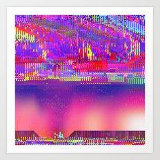 Auroralloverdrive Art Print