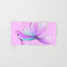 Rainbow Fish no 2 Pink Hand & Bath Towel