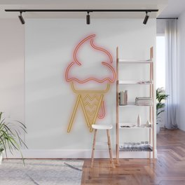 N-ice – Neon Light Wall Mural