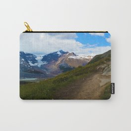 Athabasca & Snowdome Glaciers in Jasper National Park, Canada Carry-All Pouch