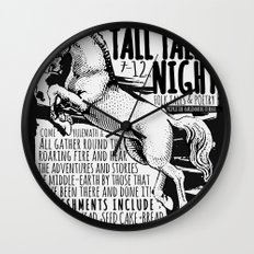 The Prancing Pony Wall Clock