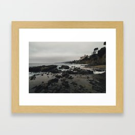 Laguna Coast. Framed Art Print