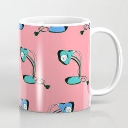 Desk Lamps (pink, green, blue) Coffee Mug