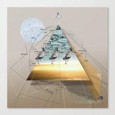 atmosphere 34 · Eiszeit Canvas Print