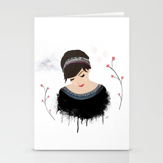 ONE SWEET GIRL Stationery Cards