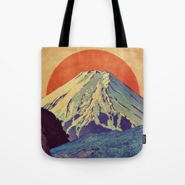 The Red Sunrise at Dayai Shore Tote Bag