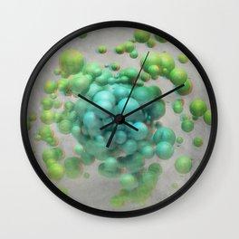 Anaglyph // Pandemonium Wall Clock
