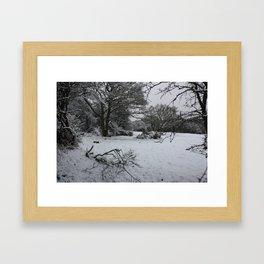 Landpark Wood Framed Art Print