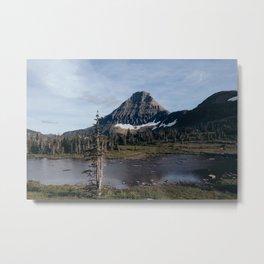 On The Hidden Lake Trailhead Metal Print