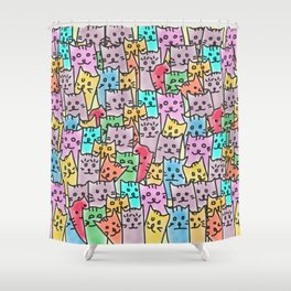 Group Photo Shower Curtain