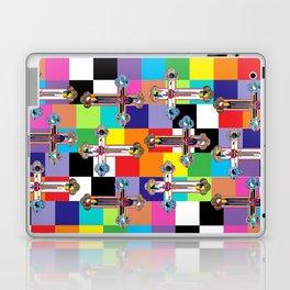 Jesus is The New Pattern 2 Laptop & iPad Skin