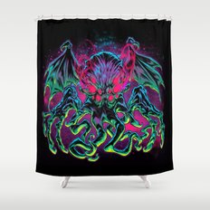 COSMIC HORROR CTHULHU Shower Curtain