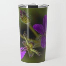 Wid Purple Travel Mug