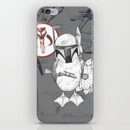 Blue Footed Booby Fett iPhone Skin