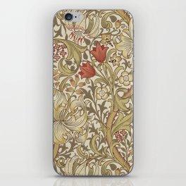 William Morris Golden Lily John Henry Dearle iPhone Skin