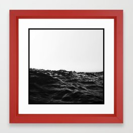 BlAcK WavE... Framed Art Print
