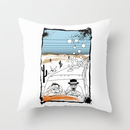 Fear and Loathing in Albuquerque II Throw Pillow