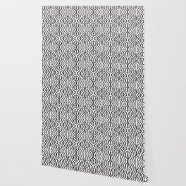 Black Coral Weaving Wallpaper