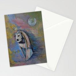 Panda Moon Stationery Cards