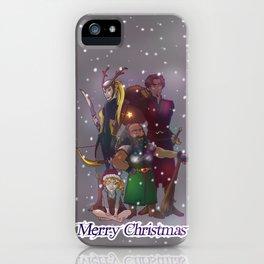 Merry Christma_01 iPhone Case