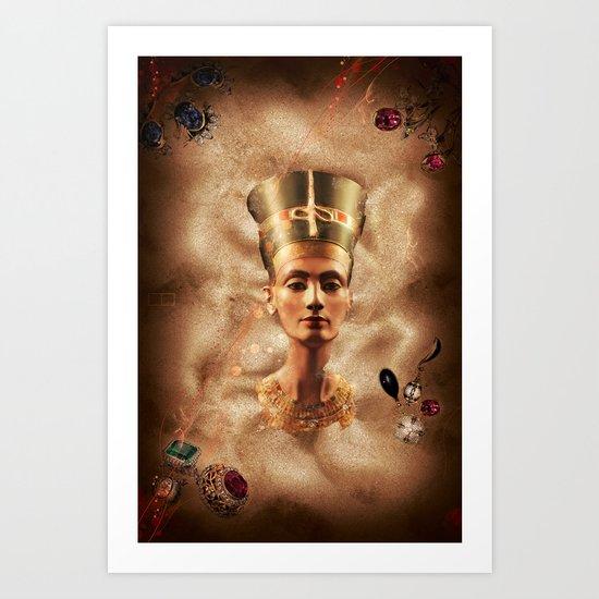 The Rising Queen Art Print
