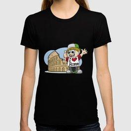 I LOVE ROME Italy Italian Tourist Vacation Present T-shirt