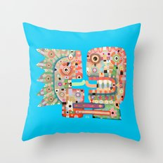 French Kiss Throw Pillow