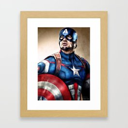 Cap Framed Art Print