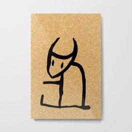 cork paper spirit Metal Print