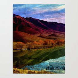 Autumn is Colorful Poster