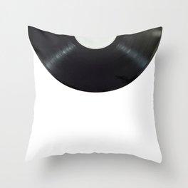 Music Vinil Throw Pillow