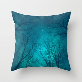 Only In the Darkness Throw Pillow