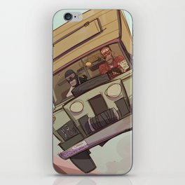 the fun van iPhone Skin
