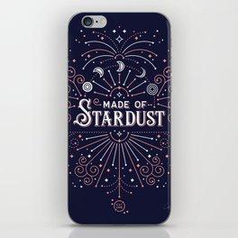Stardust – Navy & Blush Palette iPhone Skin