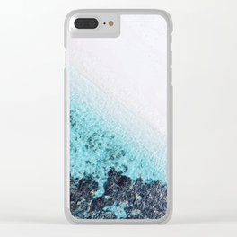 BEACH & WAVES Clear iPhone Case