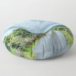 The Rising Road, Ireland Floor Pillow