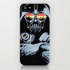 DJ Darth Vader iPhone (5, 5s) Slim Case