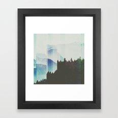 Fractions A58 Framed Art Print