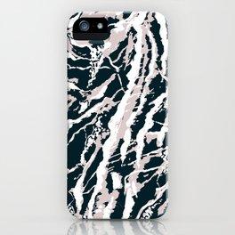Rose Blue iPhone Case