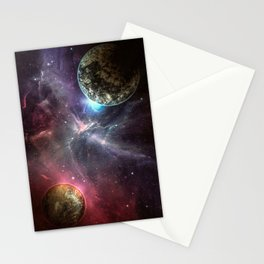 Mating of the Planets Stationery Cards