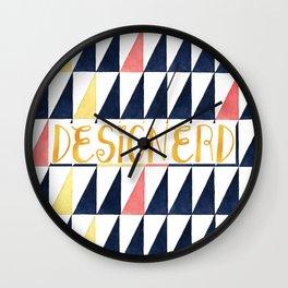 designerd Wall Clock